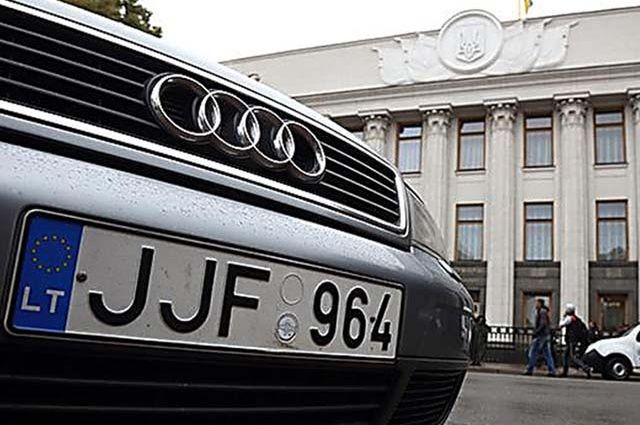 Депутаты обнародовали правки в законопроекты об автомобилях на еврономерах