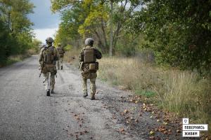 1200 метров вперед: бойцы ВСУ освободили еще одно село на Донбассе — кадры