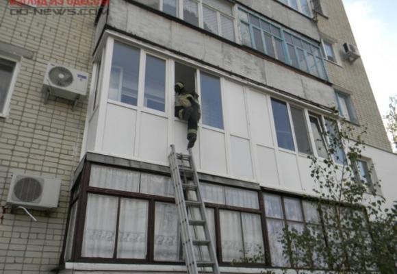 В Одессе спасателям удалось спасти девушку из ловушки