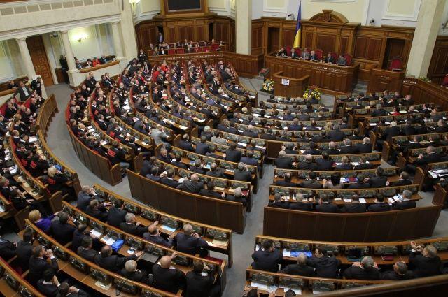 В Раде подтвердили отмену выборов в отдельных областях Украины