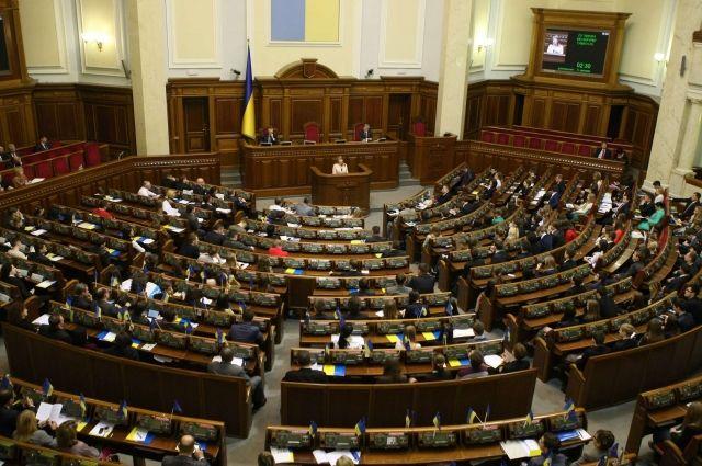 Рада приняла проект, ускоряющий предоставление Украине помощи от ЕС и НАТО