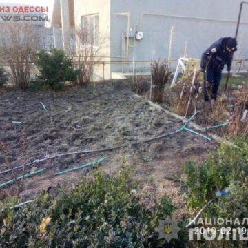 В Одесской области во дворе дома прогремел взрыв (фото)