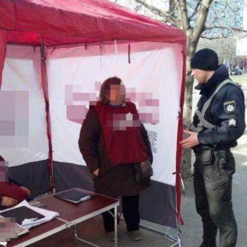 В Одессе произошло нападение на агитационный пункт