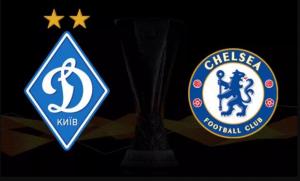 «Динамо» Киев — «Челси»: онлайн-трансляция матча Лиги Европы