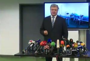 «Я пришел — тебя нет», — Порошенко сдал анализы на НСК «Олимпийском», однако Зеленский там не появился
