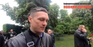 Усик присоединился к пророссийским силам в Киеве – громкие кадры