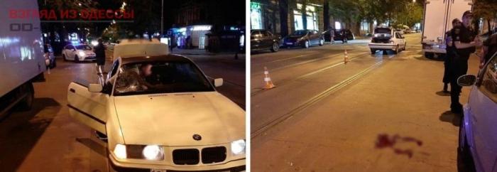 В Одессе в ночной аварии сбили пешехода