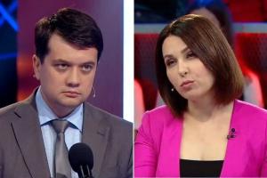 Наталья Мосейчук впервые вступила в жесткую дискуссию с командой Зеленского, такого не ожидали от ведущей 1+1