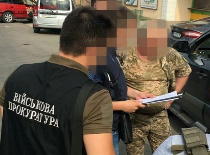 В Одесской области на взятке попался замначальник райвоенкомата