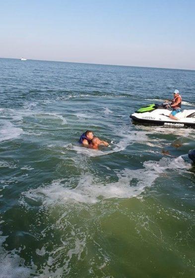 В Одессе чуть не утонул мужчина