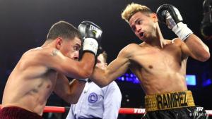 Нокдаун в первом раунде: «наследника Ломаченко» Рамиреса разгромили в дебютном бою – видео
