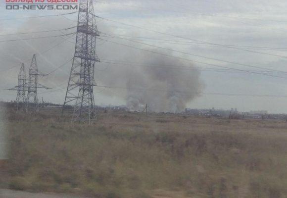 Одесса охвачена плотной завесой дыма: подробности ЧП