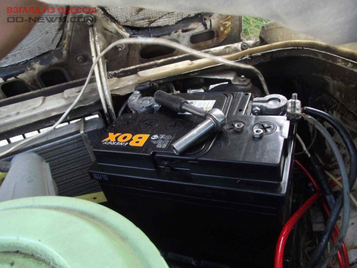 В Одессе задержаны очередные воры аккумуляторов