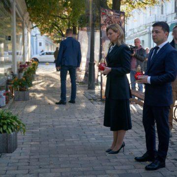 Зеленский вместе с женой отметился важным поступком в День защитника Украины — фото