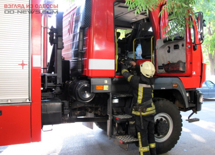 В Одесской области при пожаре погиб человек