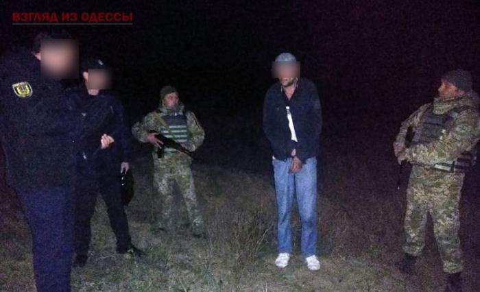 В Одесской области нарушитель границы напал на пограничника