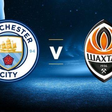 «Манчестер Сити» — «Шахтер»: онлайн-трансляция матча Лиги чемпионов