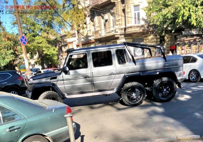 Редкое авто за миллион долларов обнаружено в центре Одессы