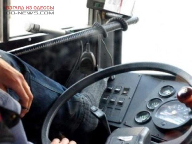 В Одессе водитель маршрутки подрался с пассажиром (видео)