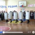 Российский спецназ на Урале показал школьникам, как избивать демонстрантов: видео