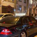 По Одессе ездит оригинально украшенный к еврейскому празднику автомобиль (фото)