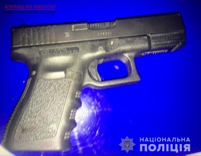 В Одессе задержали вооруженного мужчину