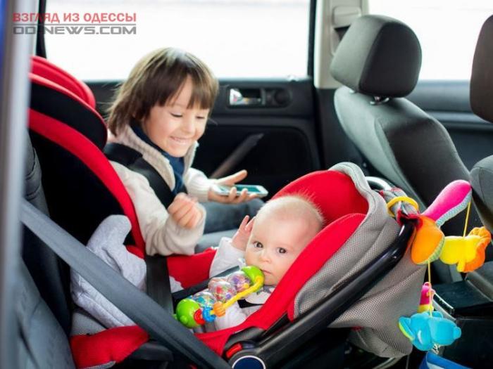 В Одессе из-за нововведений таксисты отказывают пассажирам с детьми