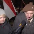 Дед на митинге в Минске о «Союзном государстве»: «Мне 82, но я еще хорошо стреляю»
