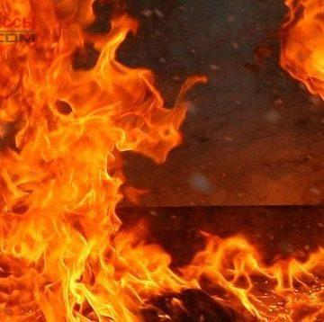 Очередной пожар с жертвами в Одессе